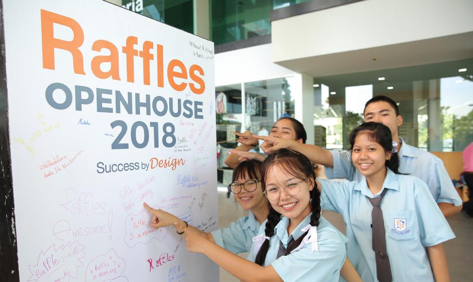 Raffles Open House 2018