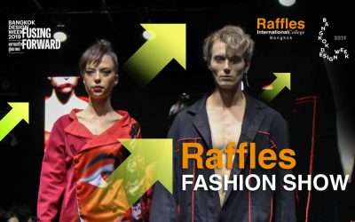Raffles Fashion Show at Bangkok Design Week 2019